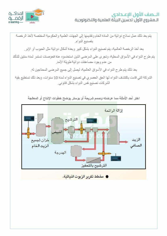 بحث جاهز تحسين البيئة العلمية والتكنولوجية لاولى اعدادى (5)